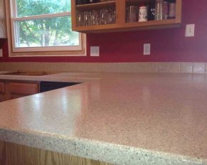 DIY Kitchen Countertop