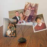 DIY Rock Photo Holder – 40 Rocks!