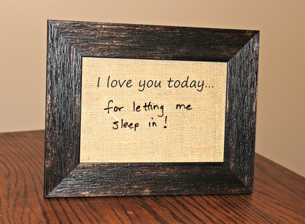 dry erase daily message board