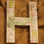 Map Covered Letter