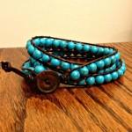 DIY Wrap Bracelet {tutorial}