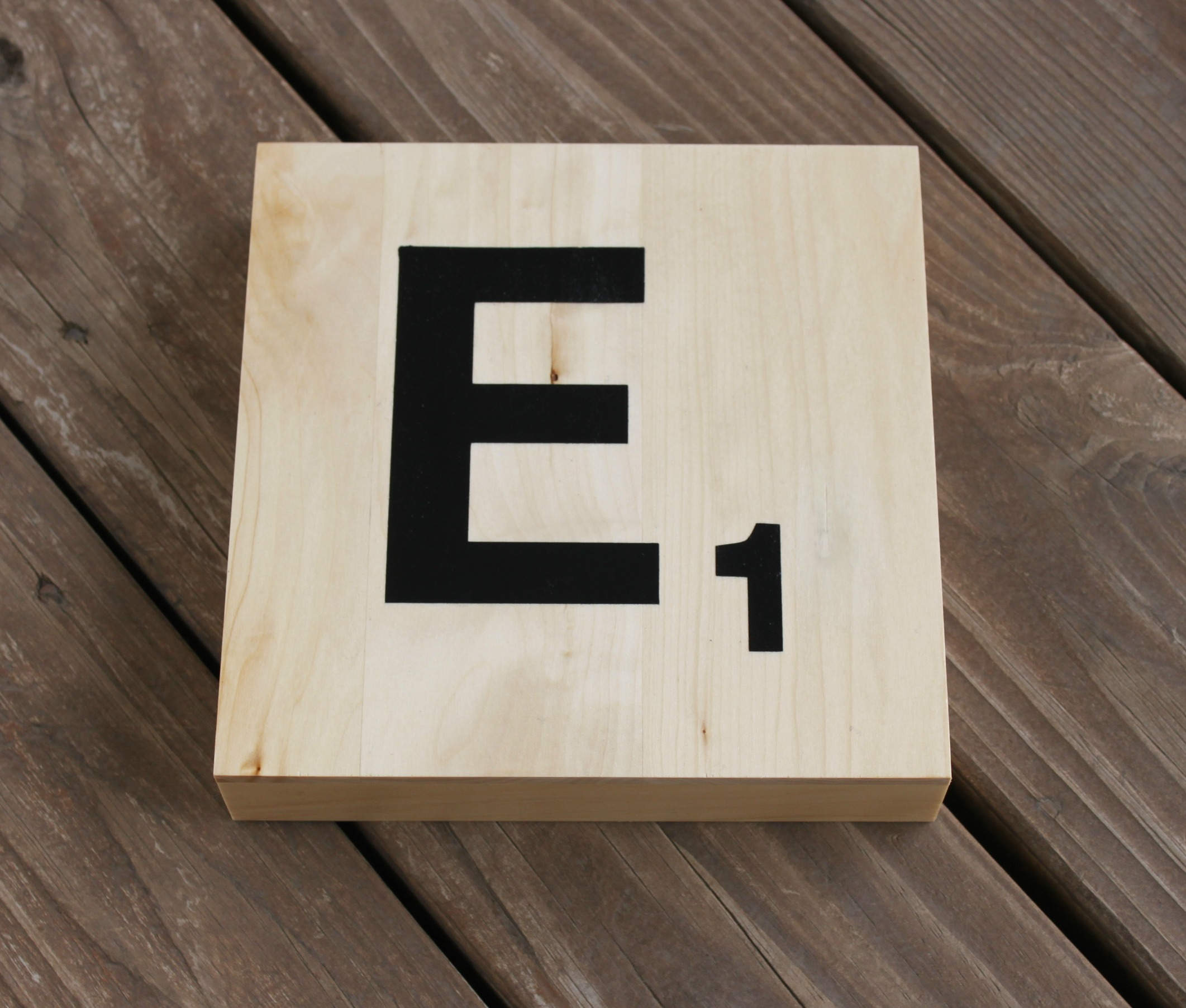 Monogram Scrabble Tile
