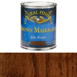 General Finishes Gel Stain Mahogany Brown