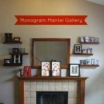 Monogram Gallery Wall