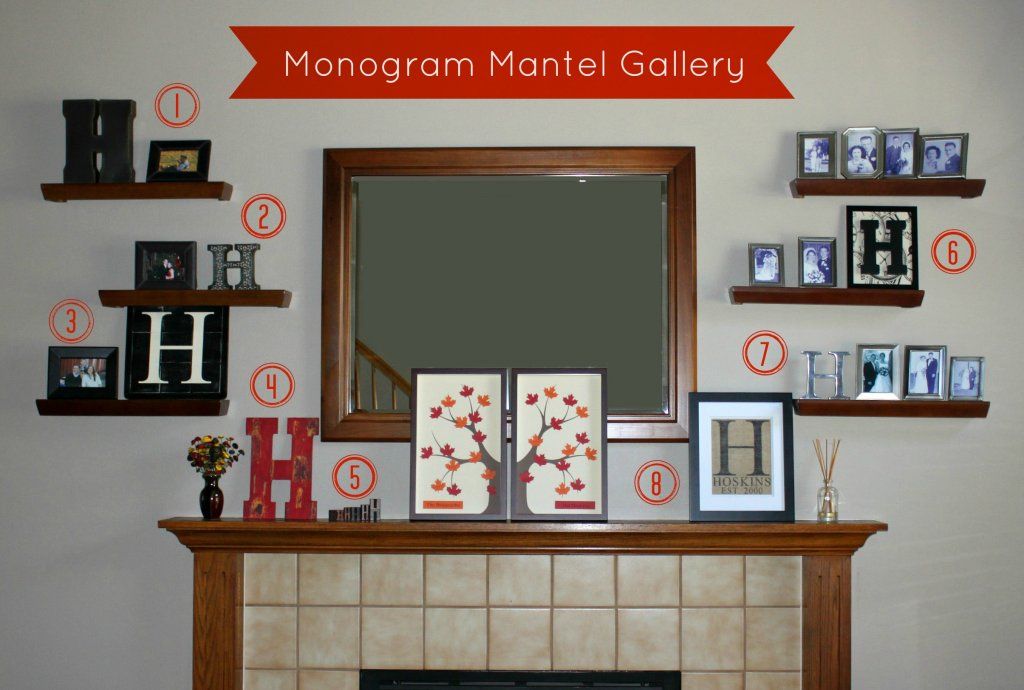 Monogram Gallery Wall