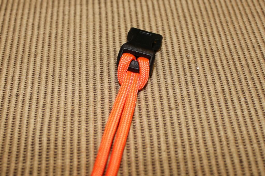 paracord bracelet - step 3