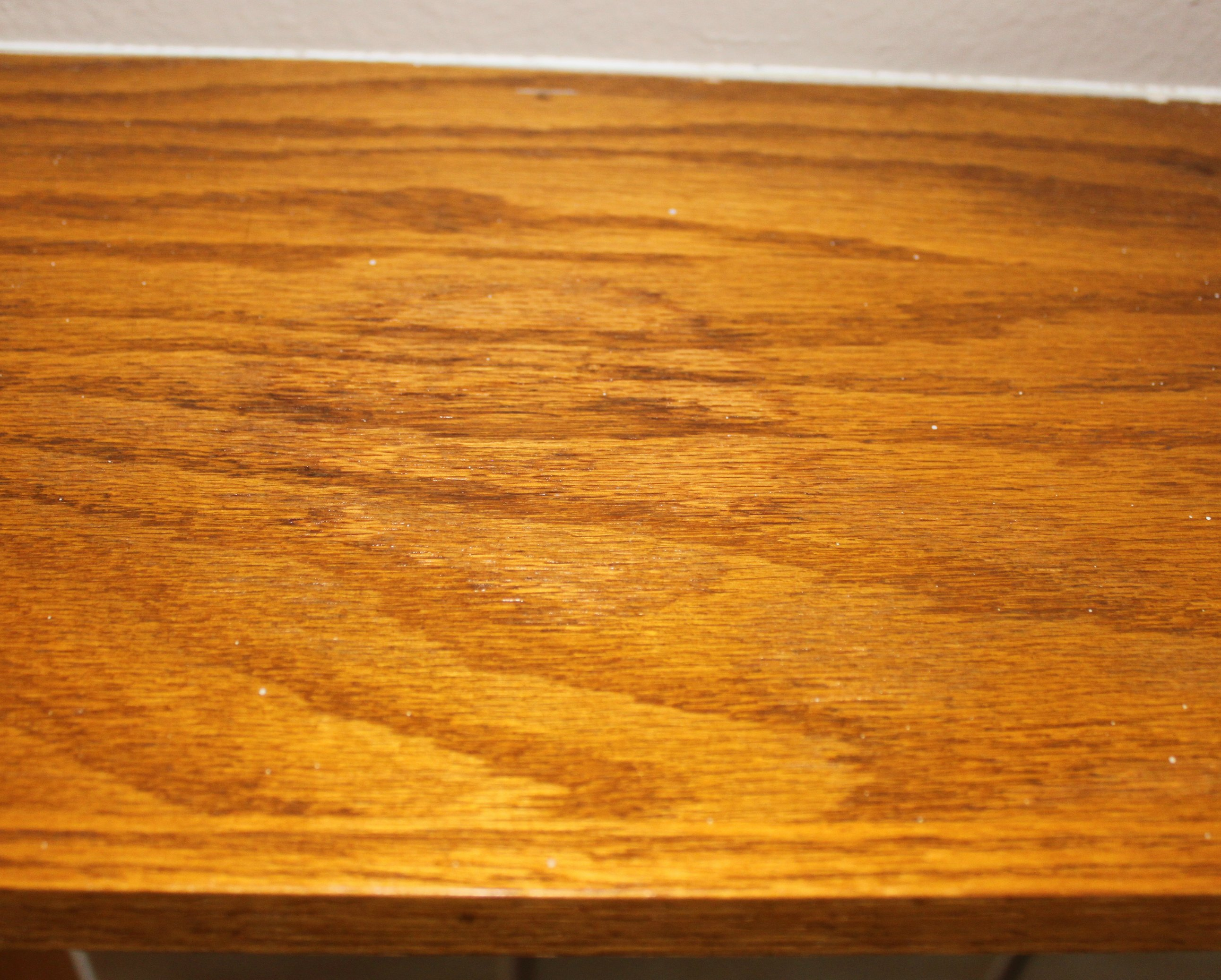 removing a water mark with toothpaste and baking soda. How to Remove Water Stains from Wood   Sometimes Homemade