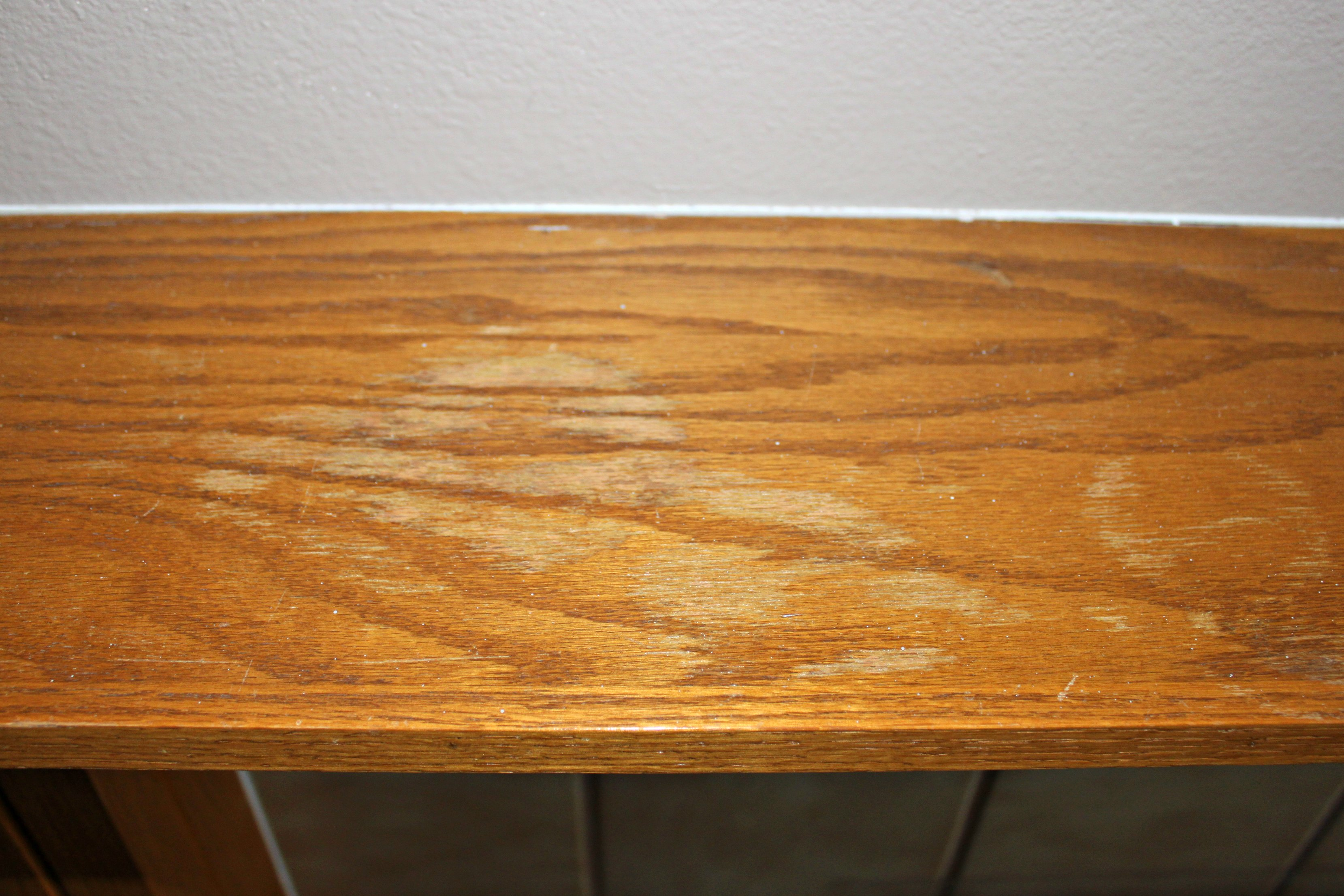removing water marks   before  See how to remove water stains. How to Remove Water Stains from Wood   Sometimes Homemade