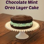 Mint Chocolate Oreo Layer Cake