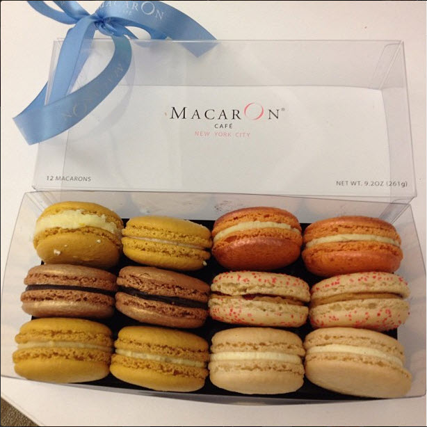 macarons from the MacarOn Cafe NYC