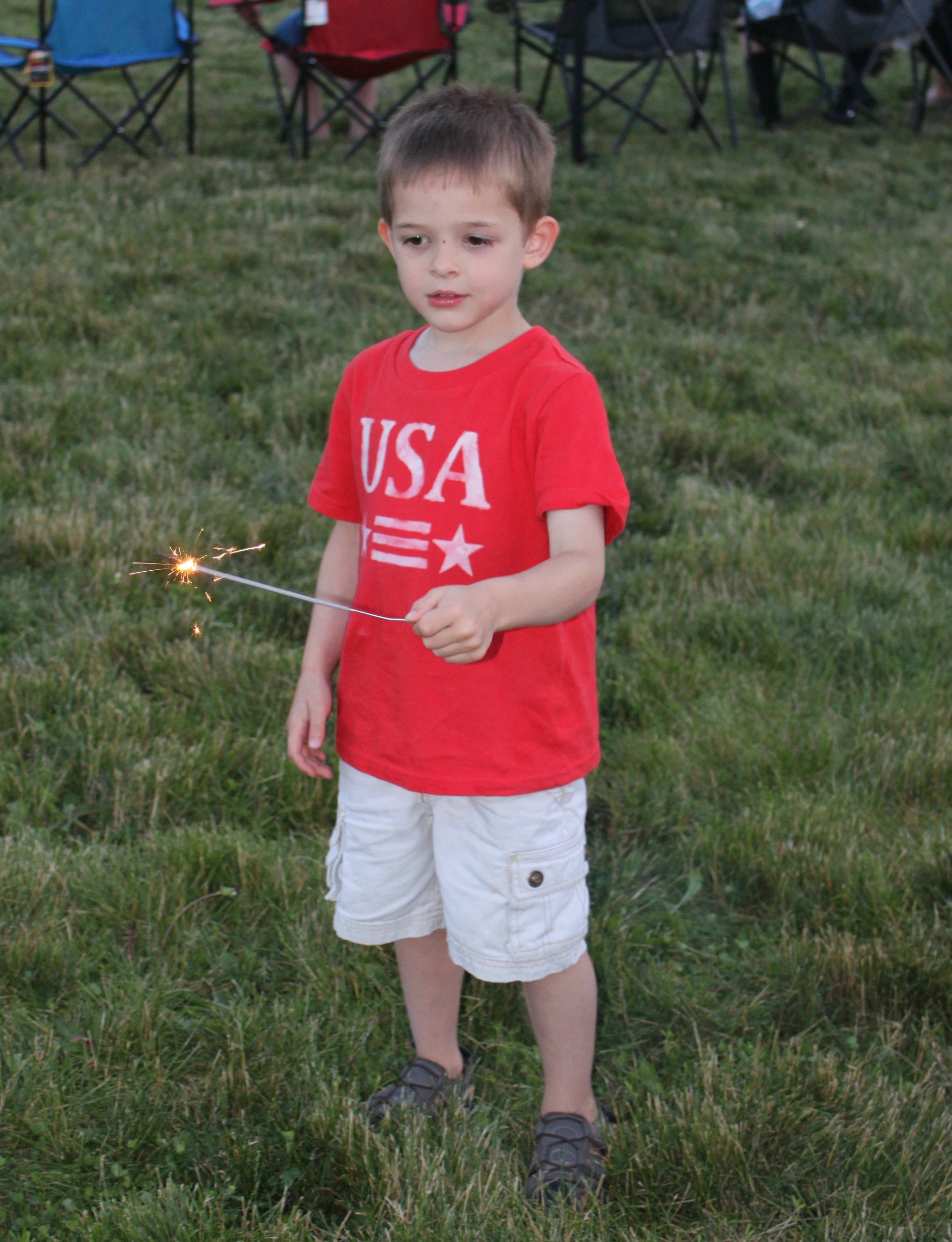 first sparklers