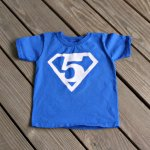 Superman Birthday Shirt – free printables!