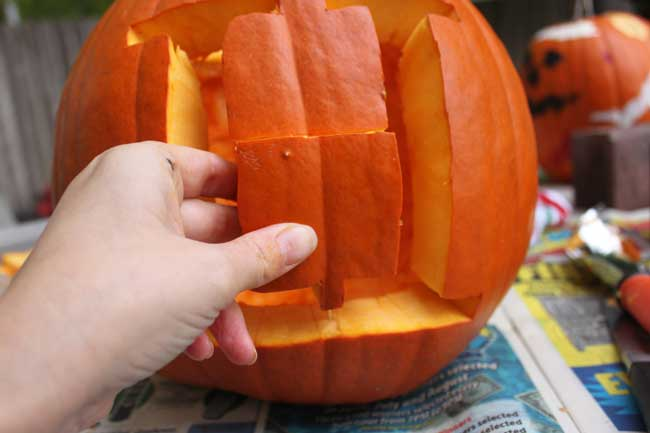 fix a carving mistake with a toothpick