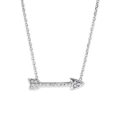 KC Designs Diamond Arrow Necklace