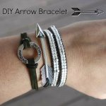DIY Arrow Bracelet