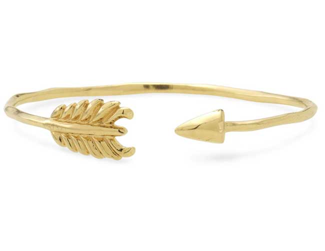 Stella and Dot Arrow Bangle