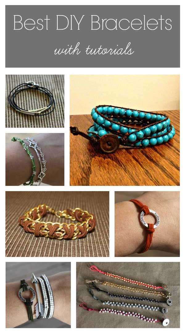 Best DIY Bracelets - with tutorials