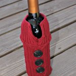 Sweater Wine Bottle Holder