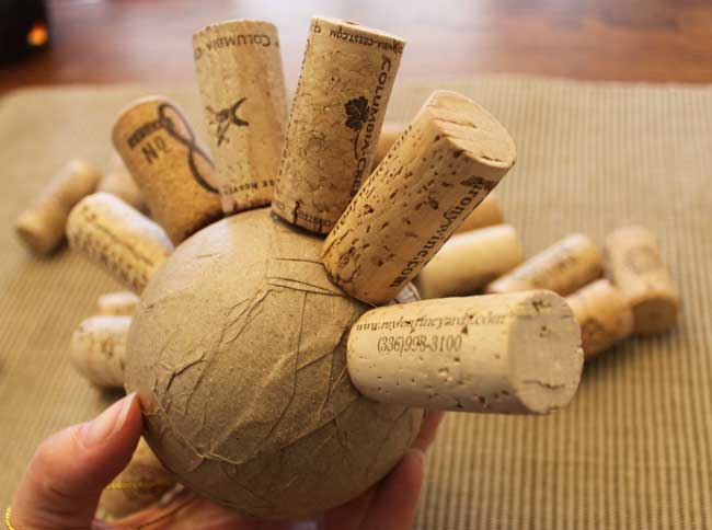 how to make a vine ball