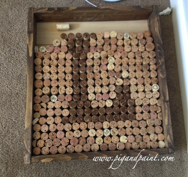 Wine Cork Monogram - Pig & Paint