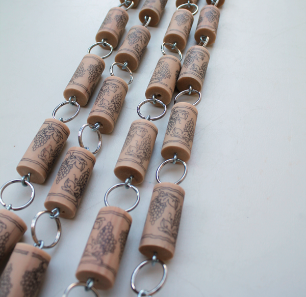 Wine Cork Garland - The Wooden Bee