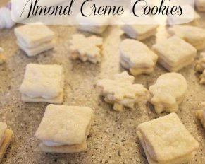 Almond Creme Cookies