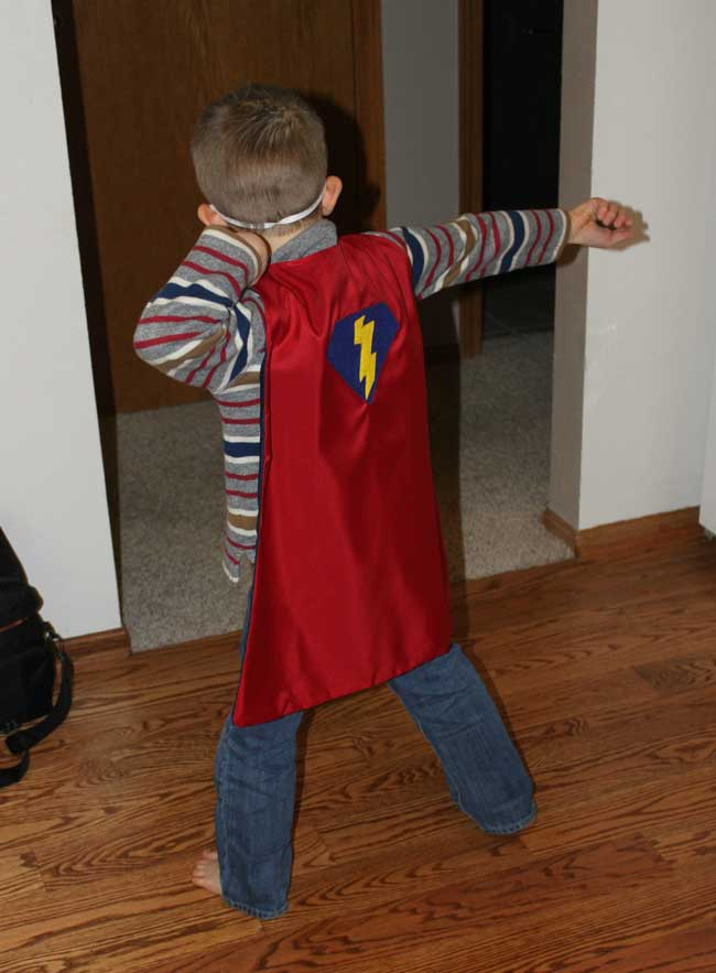 Super Hero Cape - Capes for Kids Program