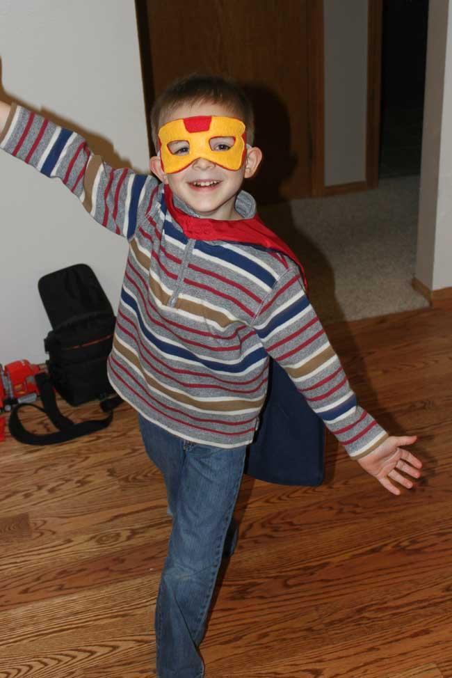 Super Hero Cape - Capes for Kids Program