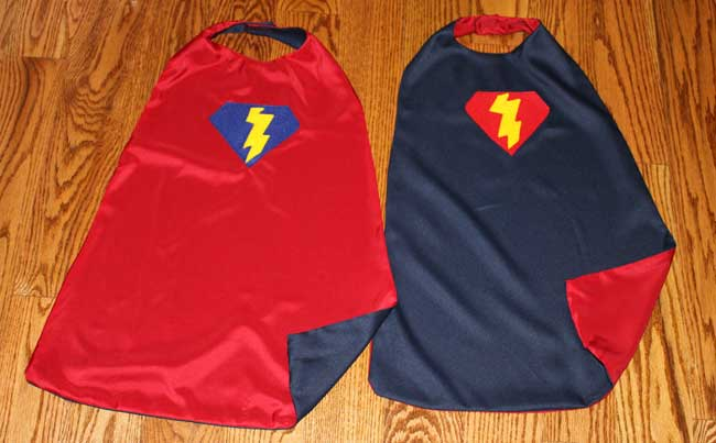 super hero capes for kids sometimes homemade
