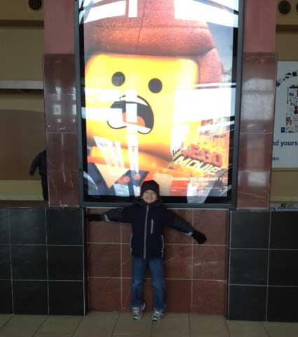 Lego Movie Date