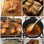 Crispy Baked Wings with Spicy Sriracha Honey Glaze