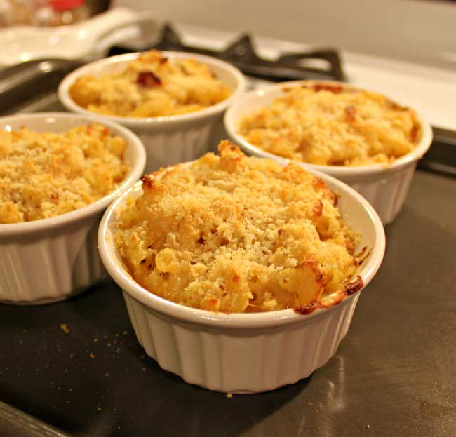 Baked Mac And Cheese With Bacon | Motorcycle Review and Galleries