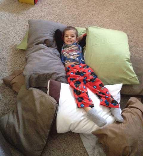 pillow-pile