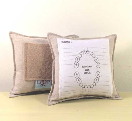 Tooth Fairy Pillow with chart