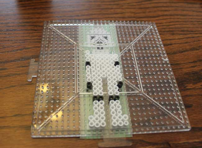 Perler Beads Star Wars Stormtrooper