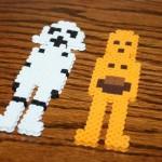 Star Wars Craft with Perler Beads