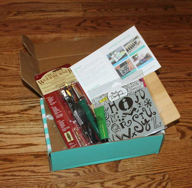 Darby Smart Craft Subscription Box - March