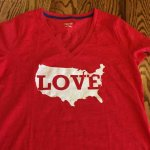 DIY Vintage Patriotic T-Shirt