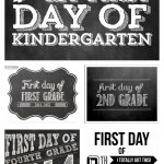 FREE 1st Day of School Printables