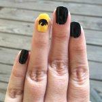 Nail Art Designs using a Silhouette