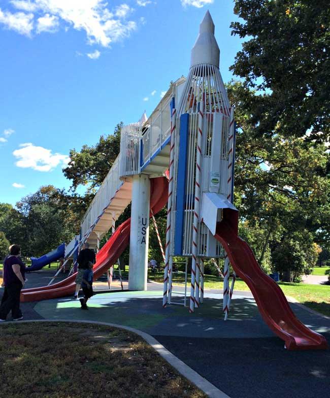 Rocket Slide Park Rocket-slide