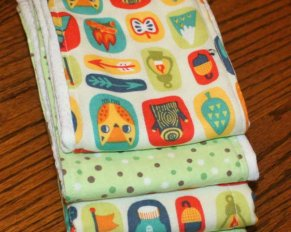 DIY Custom Burp Cloths