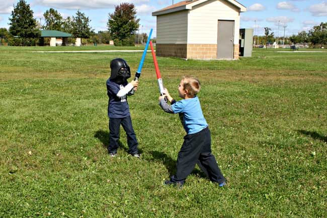 Star Wars Birthday Party - Easy Activities