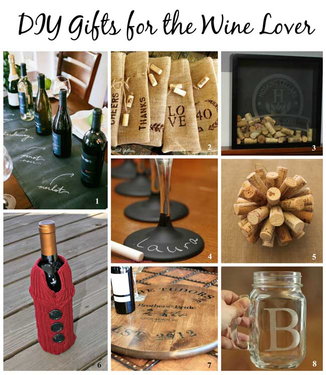 DIY Gifts for the Wine Lover