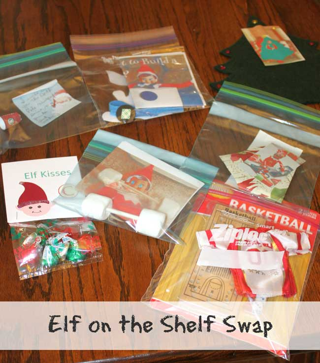 Host an Elf on the Shelf Swap