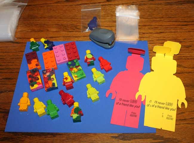 LEGO Crayon Valentines