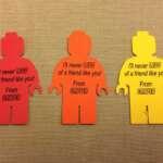 LEGO Gift Tags – Free Printable