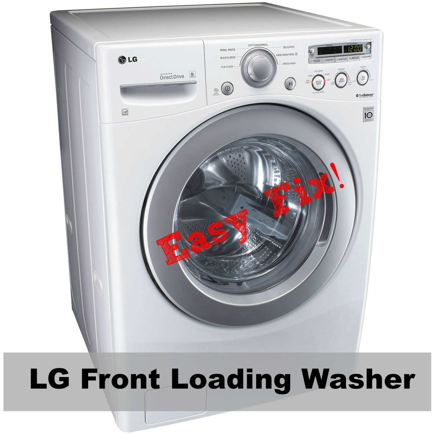 LG Front Loading Washing Machine - Easy Fix!