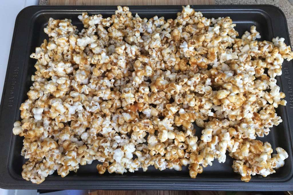Salted Caramel Popcorn Mix - ready to bake