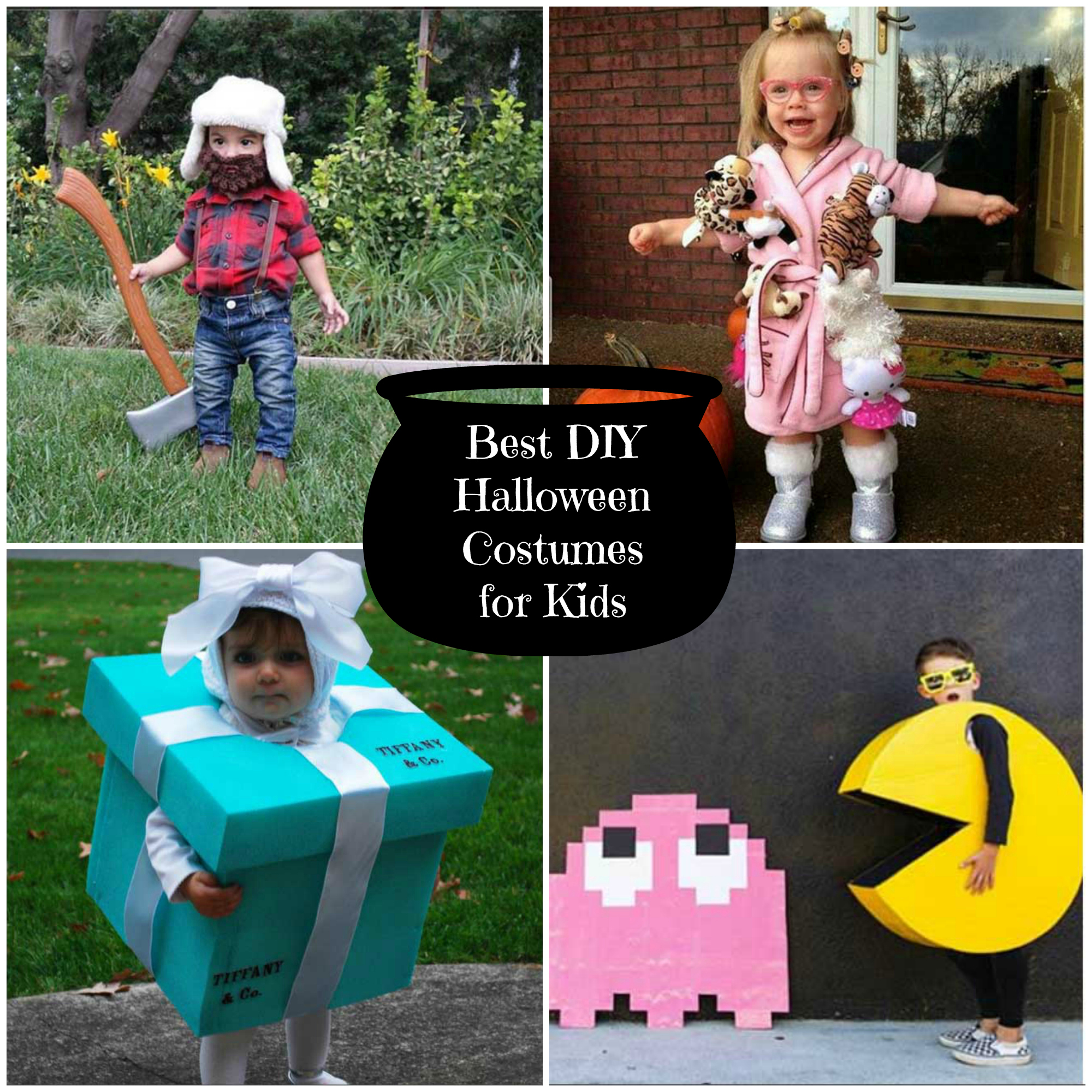 Best DIY Halloween Costumes for Kids - Sometimes Homemade